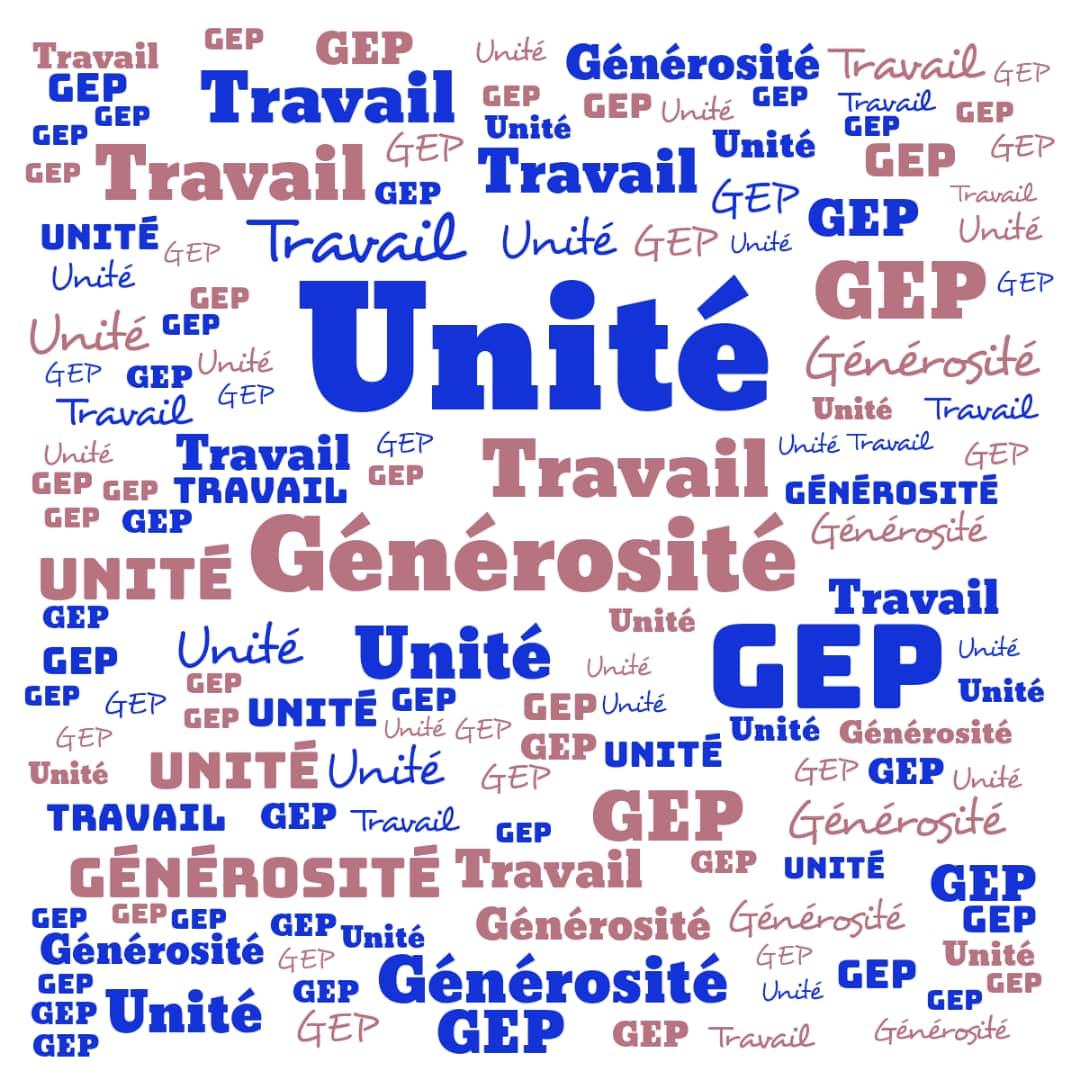 Unité Travail et Générosité à la Génération Epanouie